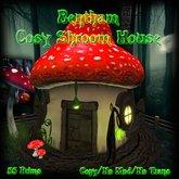 Bentham Cosy Shroom House (Boxed)