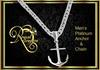Anchor Necklace - Plat/Platinum (Boxed)