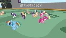 Pixel Pony Spawner