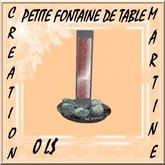 petite fontaine de table