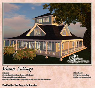*VRD* Prefab - Island Cottage (boxed)