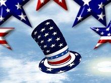 4th of July Flexible Hat