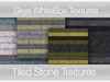 *Skye WhiteBox Textures - 84 Tiled Stone Textures  Key: Full Perms Stone Textures