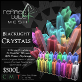 - Blacklight Crystals - A Mesh Product by Khyle Sion