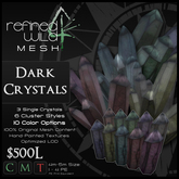 - Dark Crystals - A Mesh Product by Khyle Sion