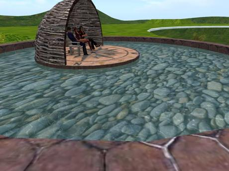 Second Life Marketplace Ornamental Pond One Of Our Many Catalogue Entries For Summer Arbors Trees Shrubs And Landscaping Items