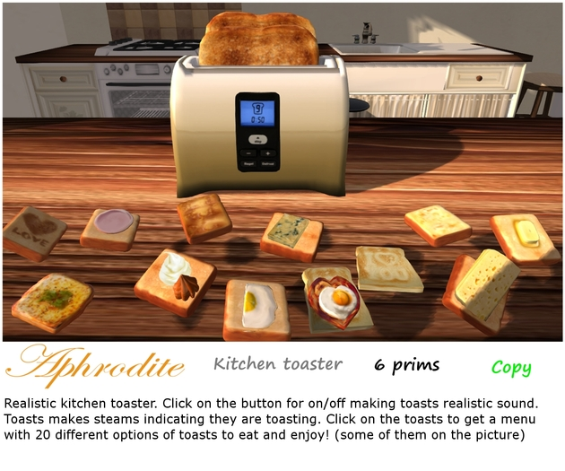 Aphrodite kitchen toaster