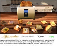 Aphrodite kitchen toaster
