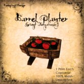 [DDD] Barrel Planter - Tomatoes