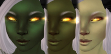 [][]Trap[][] Chrosa Greens fem ~ Multi tone skins 3 pack