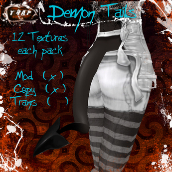 [][]Trap[][] Human tones Demon Tail pack