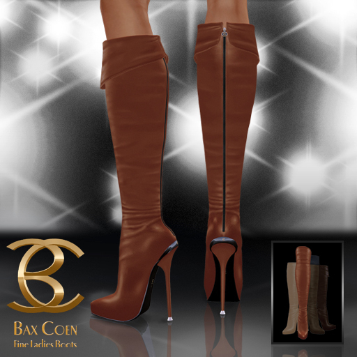 BAX Prestige Boots Brown Leather
