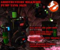 S:N MilkMade Ghostbusters Proton pack tank skin