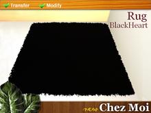 Tapete BlackHeart ♥ NEW Chez Moi