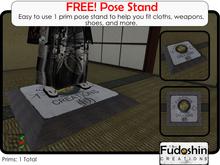 Fudoshin Creations Pose Stand V1.0