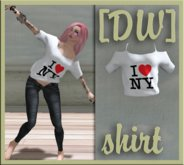 [DandelionWine] Shirt I LOVE NY ALL Size