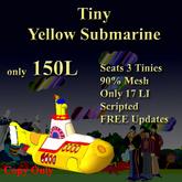 NN Tiny Yellow Submarine (boxed)