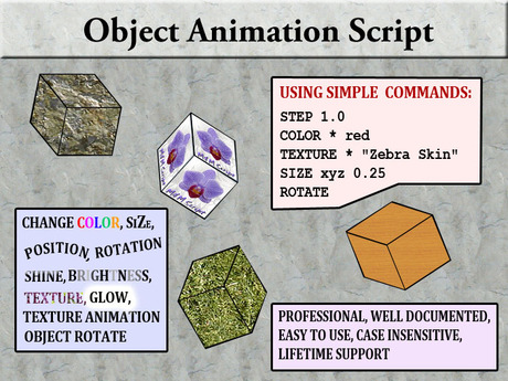 !MM! Object Animation Script  (DEMO)