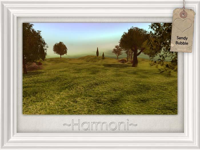 ~ Harmoni ~ Grass bubble skybox dome