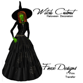 Witch Halloween Cutout