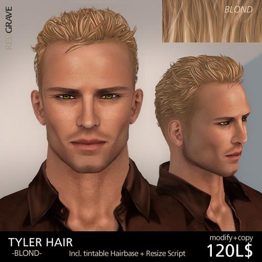 Hair TYLER - Blond - REDGRAVE
