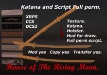 Katana, Script. Full Perm