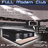 Modern Club with BPM light effects