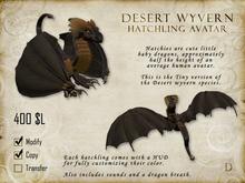 Desert Wyvern Hatchling