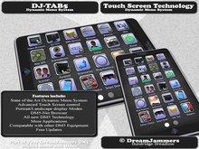 DJ-TAB5 (Powerful touchscreen tablet/pad with advanced Dynamic Menu System)