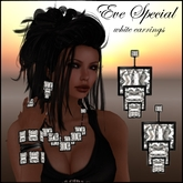 EVE SPECIAL WHITE EARRINGS - PROMO