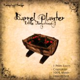 [DDD] Barrel Planter - Little Tomatoes