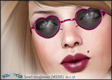 WaterWorks UV Heart Sunglasses - PINK