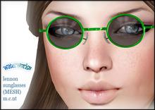 WaterWorks UV Lennon Sunglasses - GREEN