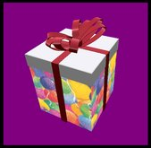 15 Holiday Balloons Party Gift Boxes - Celebrations - Top Automatically Comes Off When Your Present Is Touched