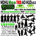 MDHU Neo TKD AO HUD v3 box - super ao