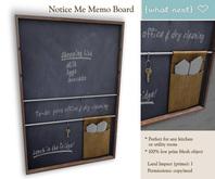 {what next} Notice Me Memo Board - kitchen