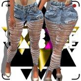 G A R B A G E - Slayed High Waist Jeans
