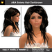 A&A Selena Hair Darkbrown (Special Color). Womens long hairstyle