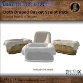 Trowix - Cloth Draped Basket Sculpt Pack