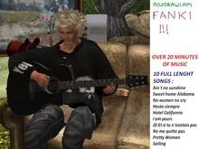 Mesh Guitar with 10 full songs black version