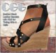 CGG Braided Black Leather Wedge Sandals with HUD to Tint Skin & Nails
