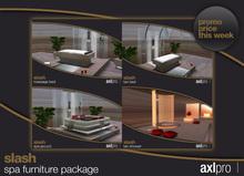 AXL pro box - Slash Spa Furniture Package