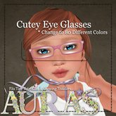 *Aura's* Cutey Eye Glasses (CC) for Kids, Tiny Tots, Toddleedoo's & Adults