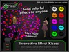 ●GD● Interactive Effect 'Kisses' [Send Multi Color Effects to anyone] HUD controlled particle/texture emitter!