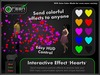 ●GD● Interactive Effect 'Hearts' [Send Multi Color Effects to anyone] HUD controlled particle/texture emitter!