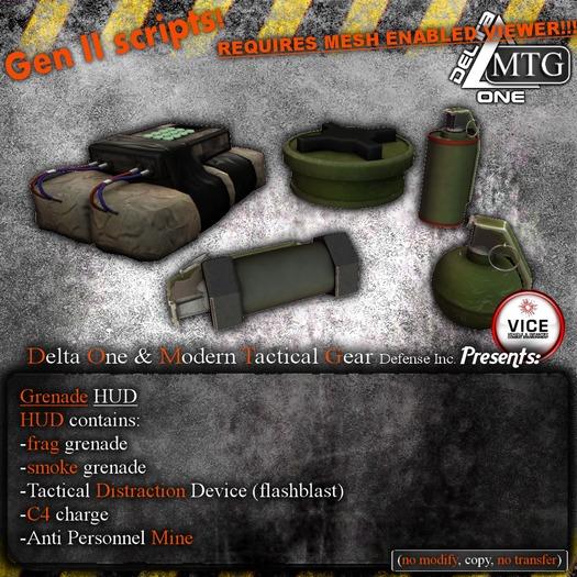 D1&MTG Grenade HUD 1.1