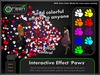 ●GD● Interactive Effect 'Paws' [Send Multi Color Effects to anyone] HUD controlled particle/texture emitter!