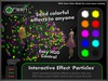 ●GD● Interactive Effect 'Particles' [Send Multi Color Effects to anyone] HUD controlled particle/texture emitter!