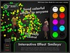 ●GD● Interactive Effect 'Smileys' [Send Multi Color Effects to anyone] HUD controlled particle/texture emitter!