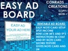 EASY AD BOARD BOXED ( SENDS TPS,IMS & SPLIT OPTION)